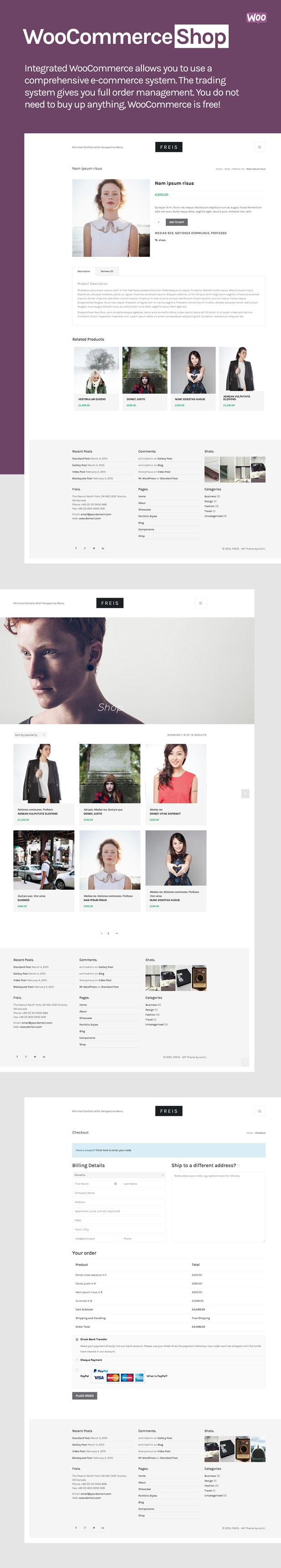 Freis - Creative Portfolio Theme